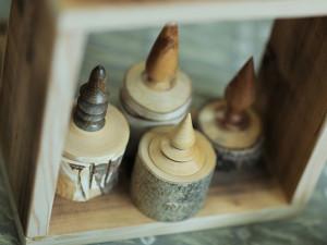 Wood Jars