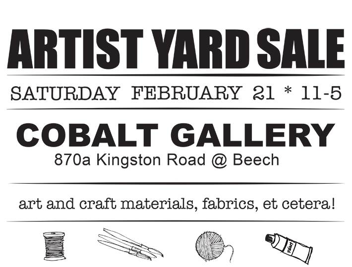 cobalt yard sale