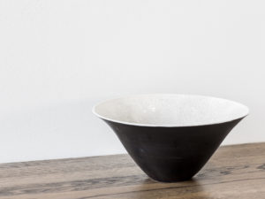 Big Black and White Bowl