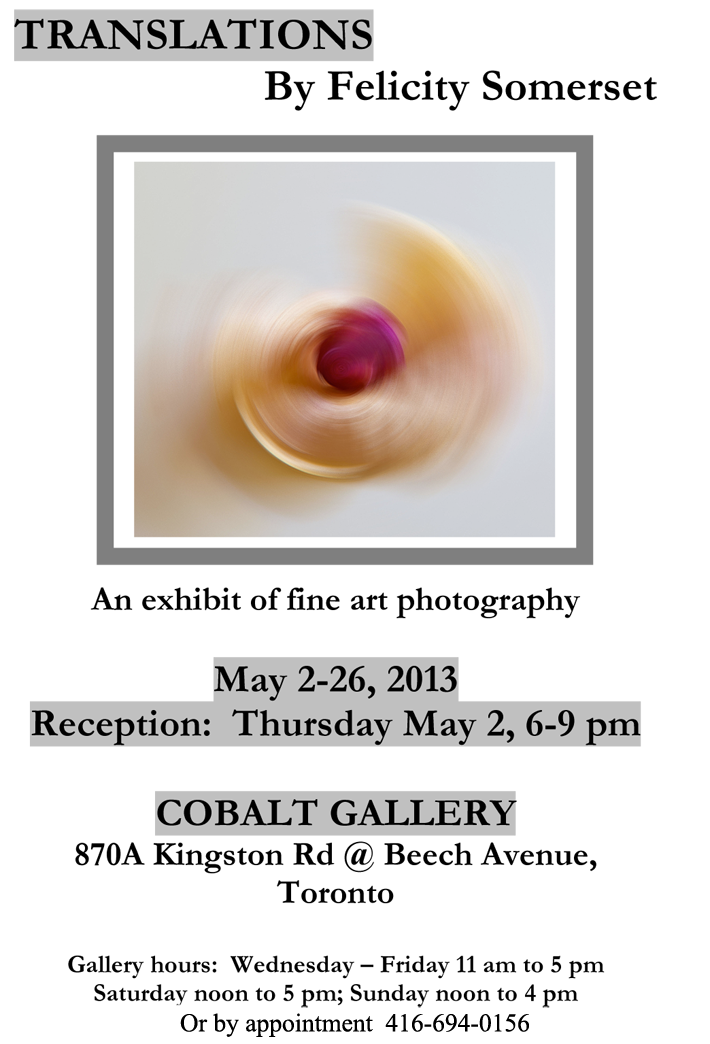 Postcard one sided Cobalt 2013