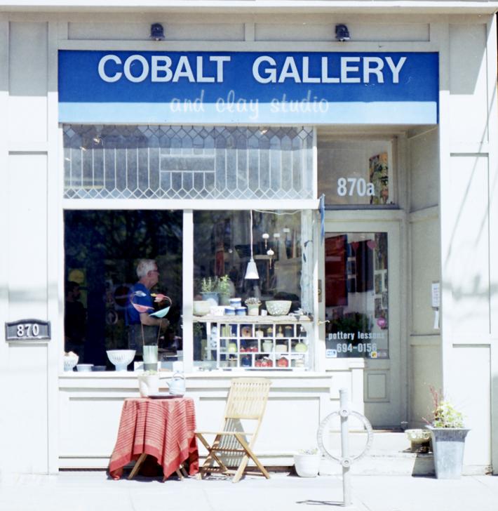 bowls pottery toronto cups tea pots vase textile beach annette hansen cobalt gallery pottery studio