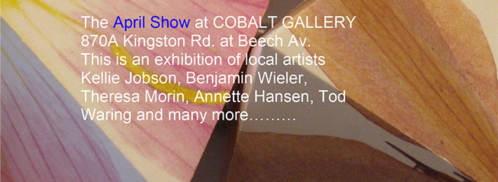 April 2017 – Group Show of Local Artists at COBALT GALLERY