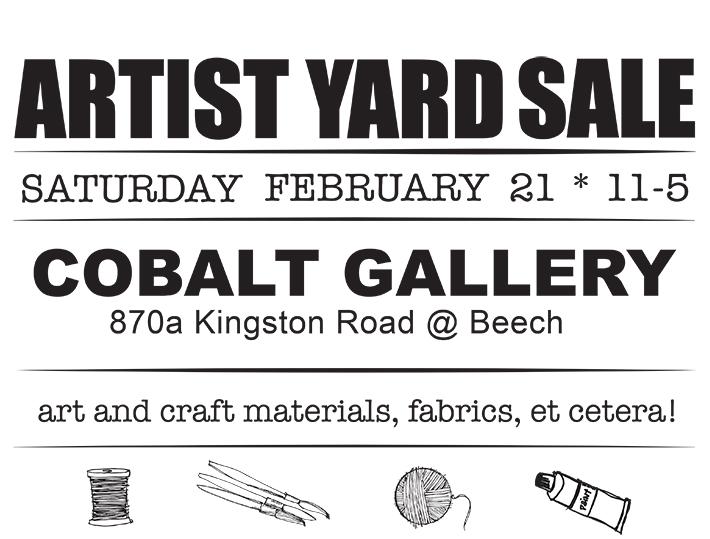 cobalt yard sale